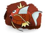 Art Trade - Splashing Fishie by KunYKA