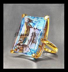 Aquamarine ring by mario-freire