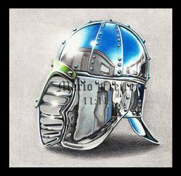 Chrome helm by mario-freire