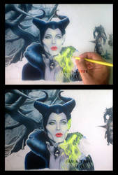 Maleficent - Wip by mario-freire