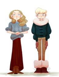 Gerda and Kai - remake by TeenyTinyTena