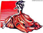 Red dress by livingdoll