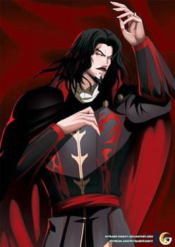 Dakimakura _Castlevania Dracula Vlad Tepes series by mitgard-knight