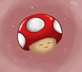 Mario mushroom by emilyart04