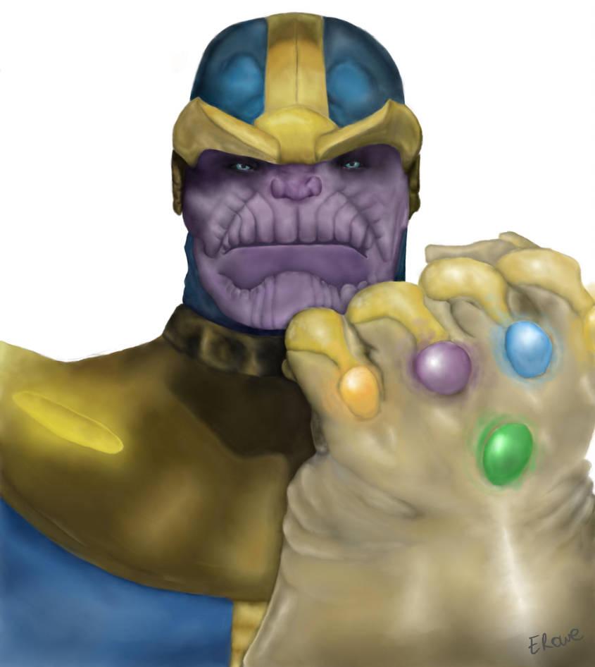 Thanos by emilyart04