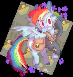 Rainbow Dash by KeuRSH29
