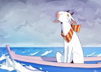 Goat's Boat by KeuRSH29
