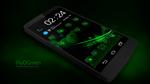 Next Launcher Theme FluOGreen by Karsakoff