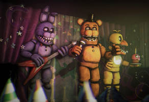 [FNAF2/SFM] One Last Show by CynfulEntity
