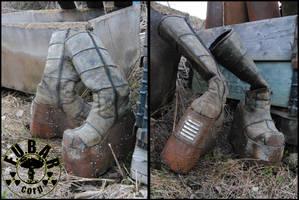 Megaton Settler Boots by Zaxnot