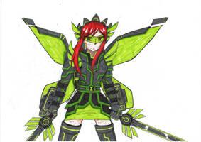 Upgraded Armadura Fairy Armor by xzorshio