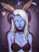 Myrri Portrait, by naranavy by JinxedProvidence