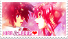 Stamp: Kira and Lacus by ethie-chan