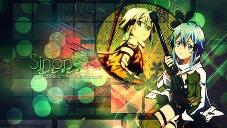 Desktop Wallpaper: Sinon by ethie-chan