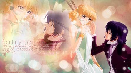 Desktop Wallpaper: AsuCaga by ethie-chan