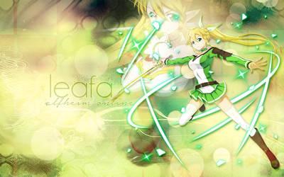 Desktop Wallpaper: Leafa by ethie-chan