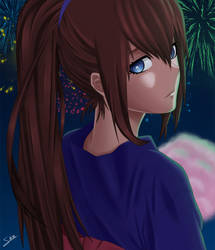 Happy New Year 2013 from Kurisu! by omega-deviant