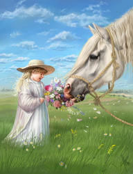 Flowers For You by Fable-Art