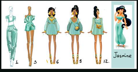 Jasmine-evolution by Sashiiko-Anti