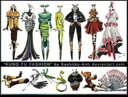 Kung Fu Fashion by Sashiiko-Anti
