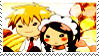 Misaki and Usui stamp by Iloveyoukisshu
