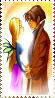 Cornelia and Caleb stamp by Iloveyoukisshu