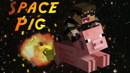 Minecraft SPAAAACE PIG by SkyDoesMinecraft