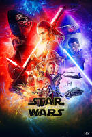 The force awakens poster redesign by Mike Smith by mikesmithimages