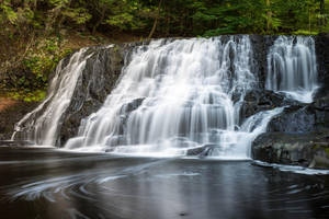 Wadsworth Falls, CT by Vision-Quest