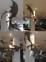 Dragon in clay. by Cleytonoliveira