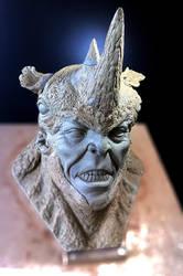 Bust Rhino by Cleytonoliveira