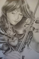 Sounds Of The Sea (realism drawing) by Highway3