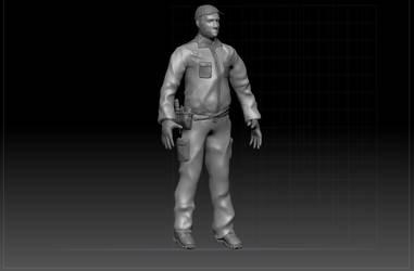 Zbrush Character Sculpt progress by Scorpiu5