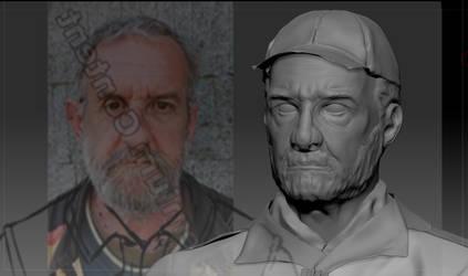Zbrush Sculpt - Face by Scorpiu5