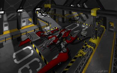 Hangar 06 by Scorpiu5