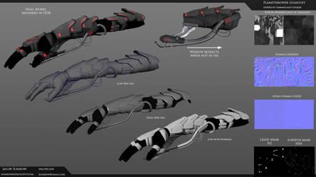 Nod Flamethrower model specs by Scorpiu5