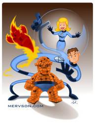 Fantastic Four by mervson