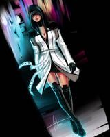 Mass Effect - Kasumi by Levelanix