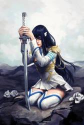 Kiryuin Satsuki - Kill la Kill fan art by liasailor