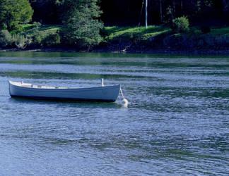 Wooden boat by fallen-again-stock