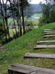 Rustic pathway by fallen-again-stock