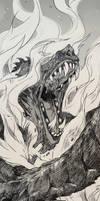 INKTOBER3 - Roasted by synderen