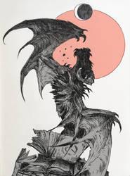 INKTOBER4 - Spell by synderen