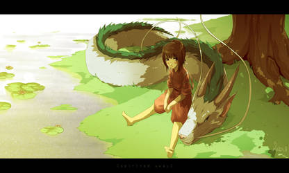 [Reup] Spirited Away by synderen