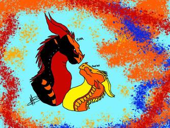 Ezrrier pride2 by LittleLoki14