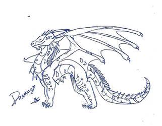 Dreaming Sketch by LittleLoki14