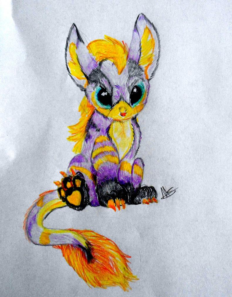 Fuzzy lil thing 002 by LittleLoki14