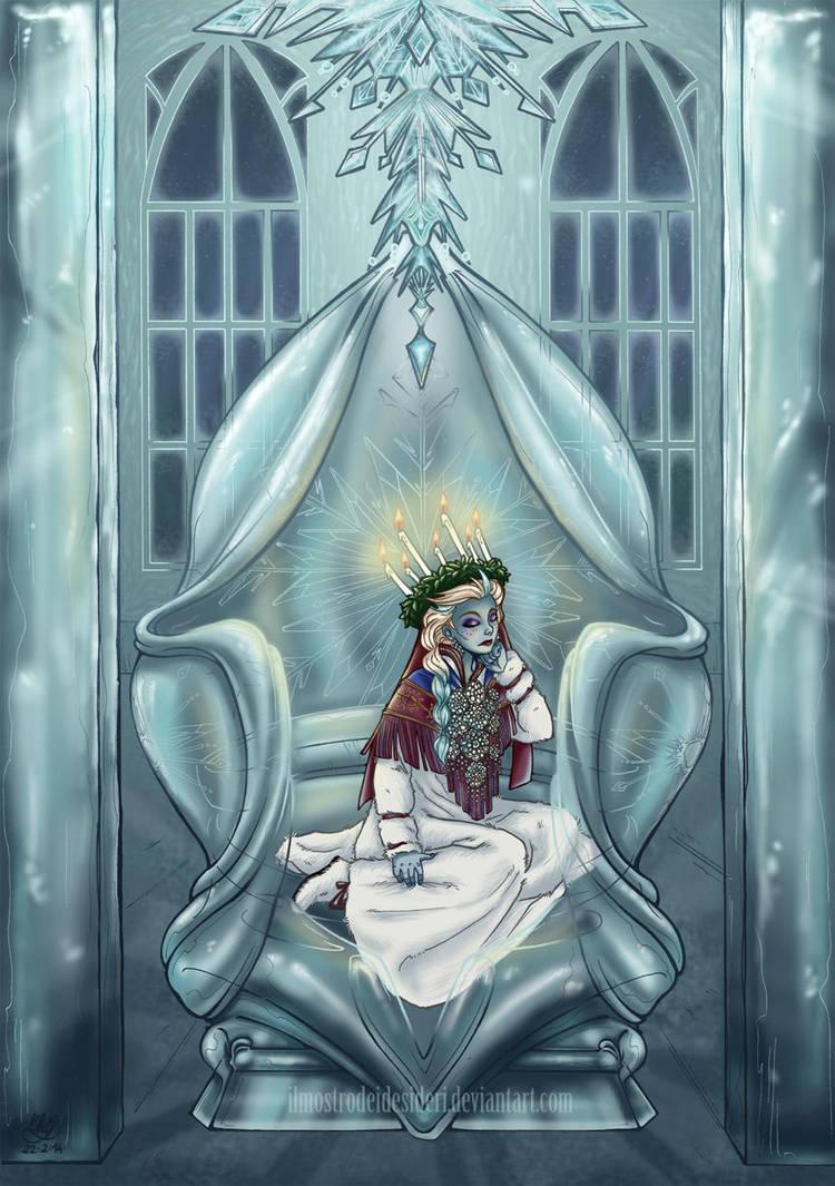 Frozen Throne by IlMostroDeiDesideri
