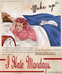 I Hate Mondays by IlMostroDeiDesideri