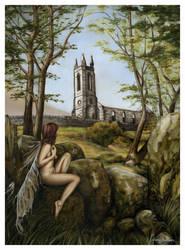 Dunlewey Fae by garybonner